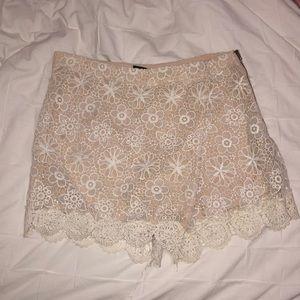 Crochet skort